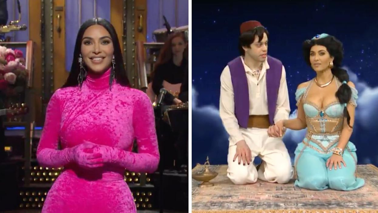 Kim Kardashian West Hosted 'SNL' Last Night & Trolled Absolutely Everyone She Knows (VIDEO)
