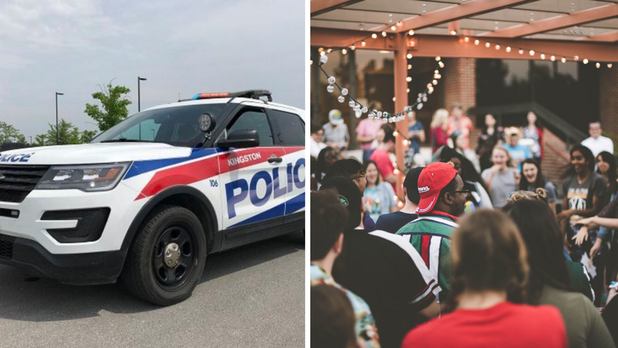 Kingston Police Busted A Huge Party At Queen's University & Almost 60 People Were Charged