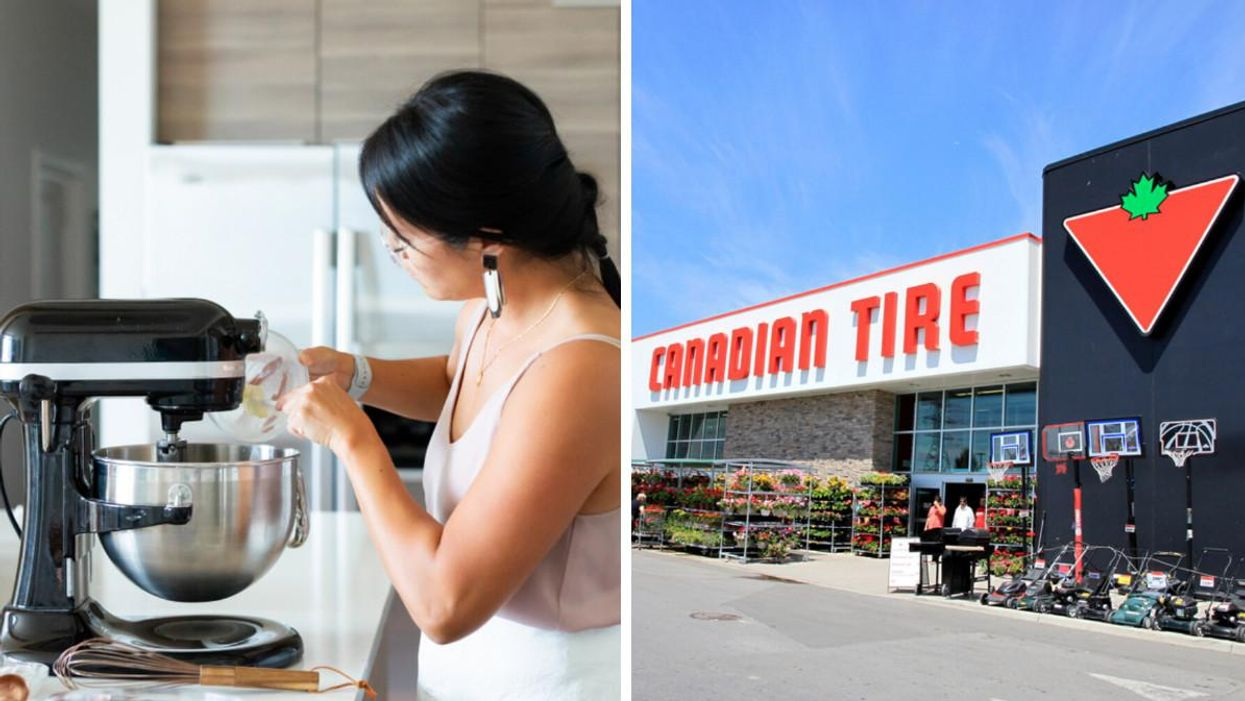 Kitchen Products At Canadian Tire Are Up To 75% Off & I Couldn't Be More Excited