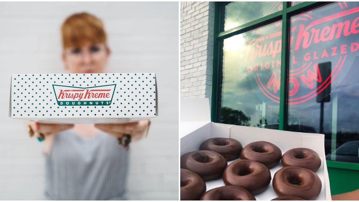 Krispy Kreme Canada's Chocolate Glazed Donuts Are Back On July 10