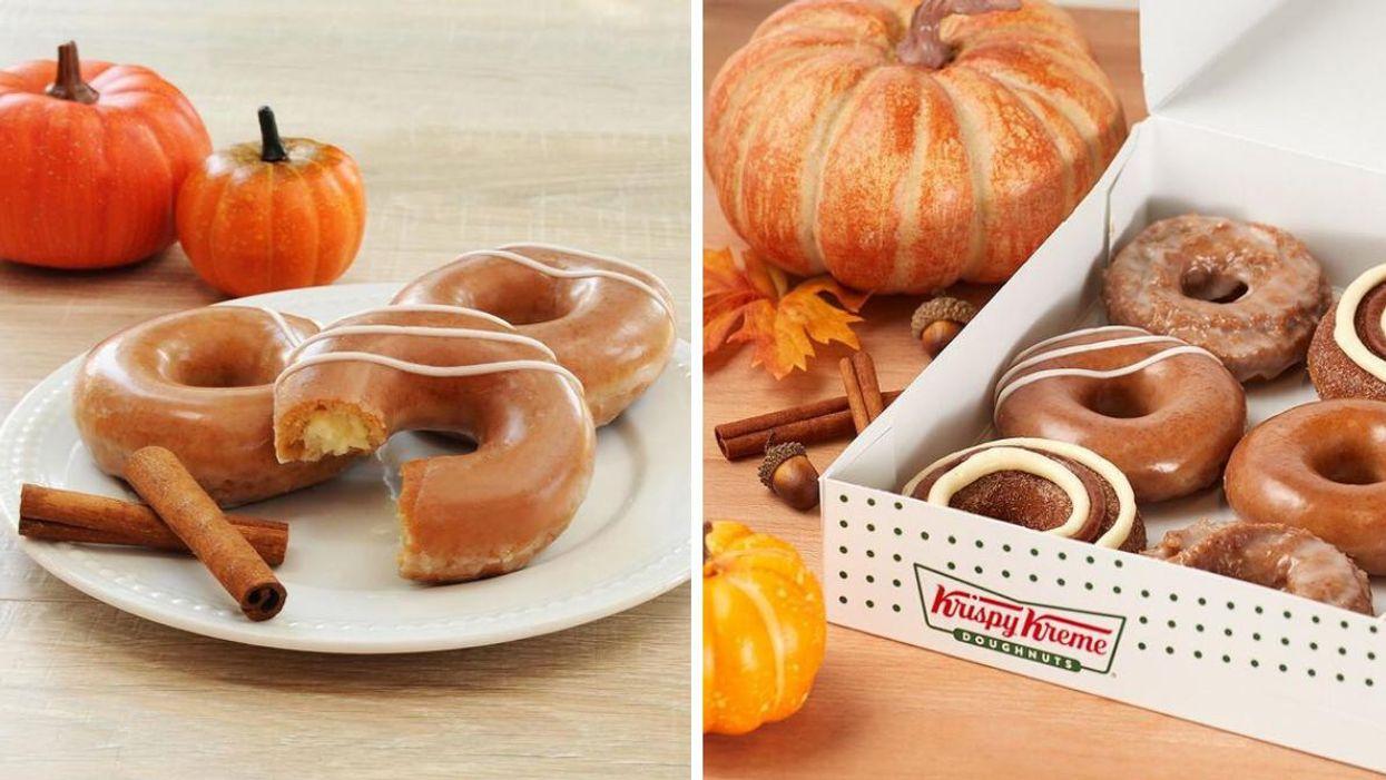 Krispy Kreme sort un menu « pumpkin spice » au Québec pour un week-end seulement
