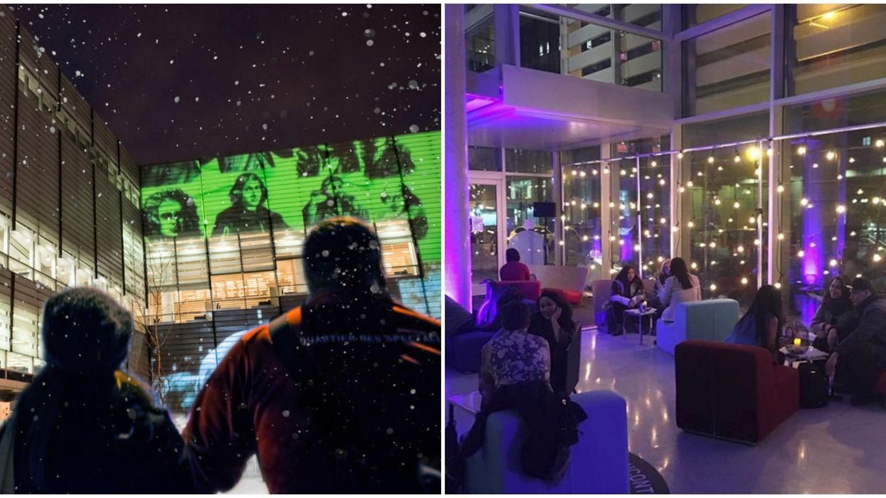 La Grande Bibliothèque se transformera en salle de jeux à la Nuit blanche à Montréal