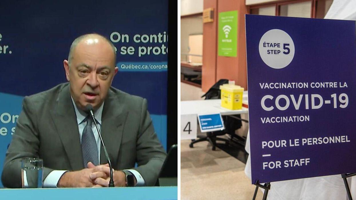 La vaccination obligatoire pour le personnel de la santé prévue le 15 octobre est reportée