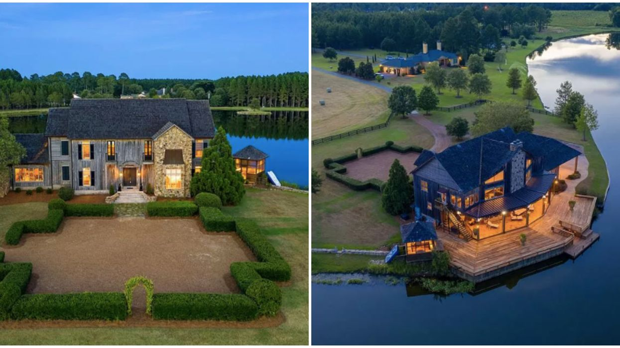Lakefront House For Sale Georgia Will Make You Feel Like Absolute Royalty PHOTOS