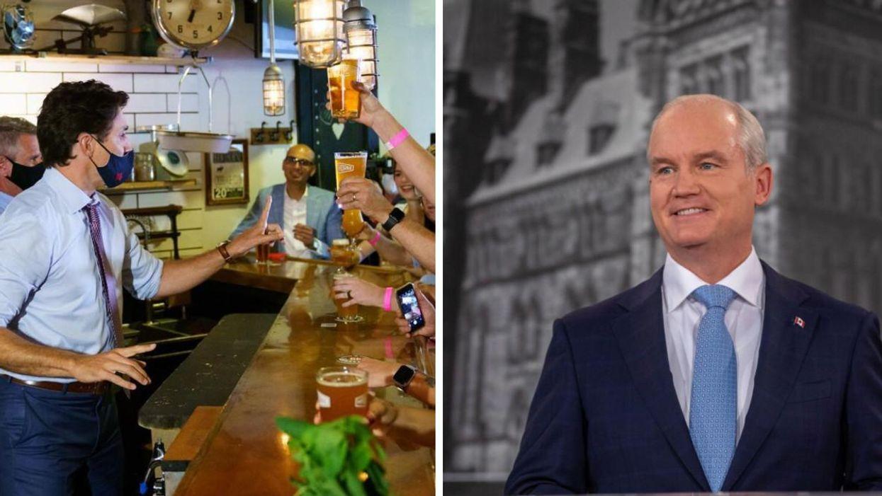 Le jeu de boisson à essayer en regardant le débat des chefs 2021