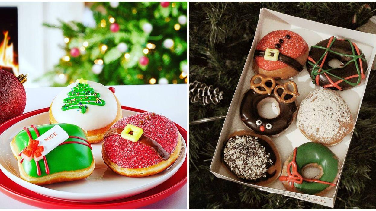 Les Krispy Kreme des Fêtes sont de retour dès aujourd'hui au Québec