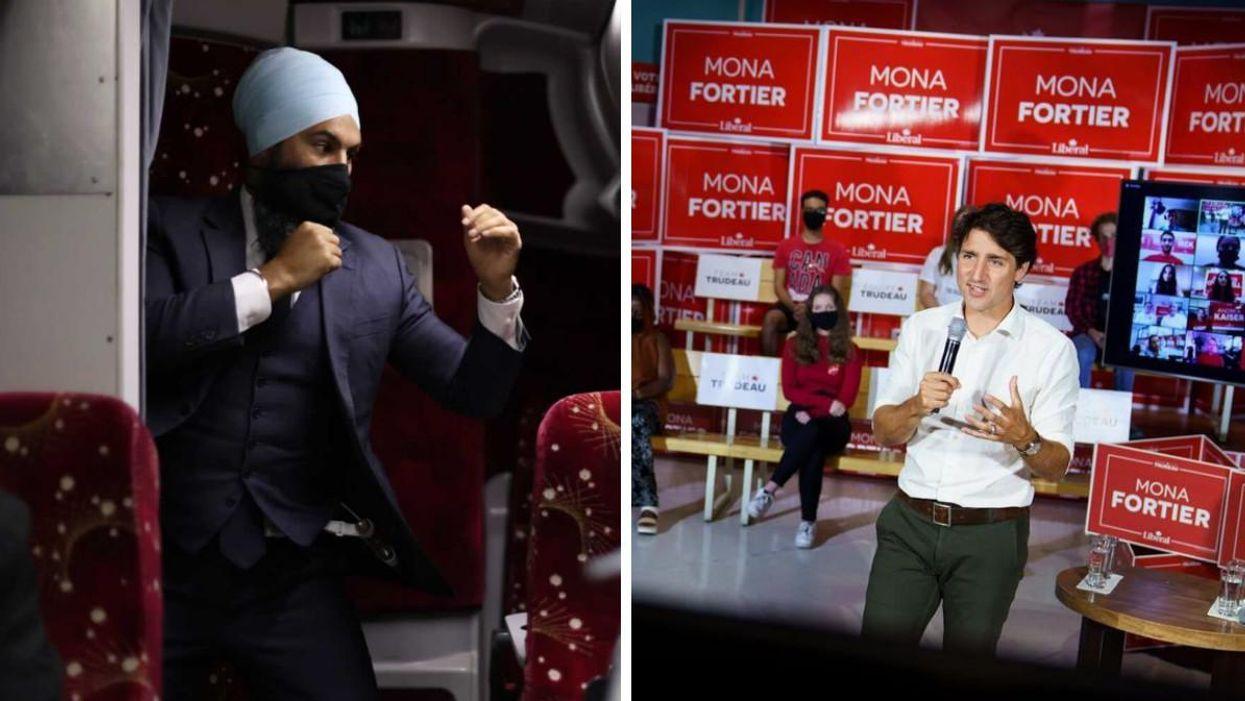 Les libéraux partagent un bingo pour le débat des chefs et aucun parti n'est épargné