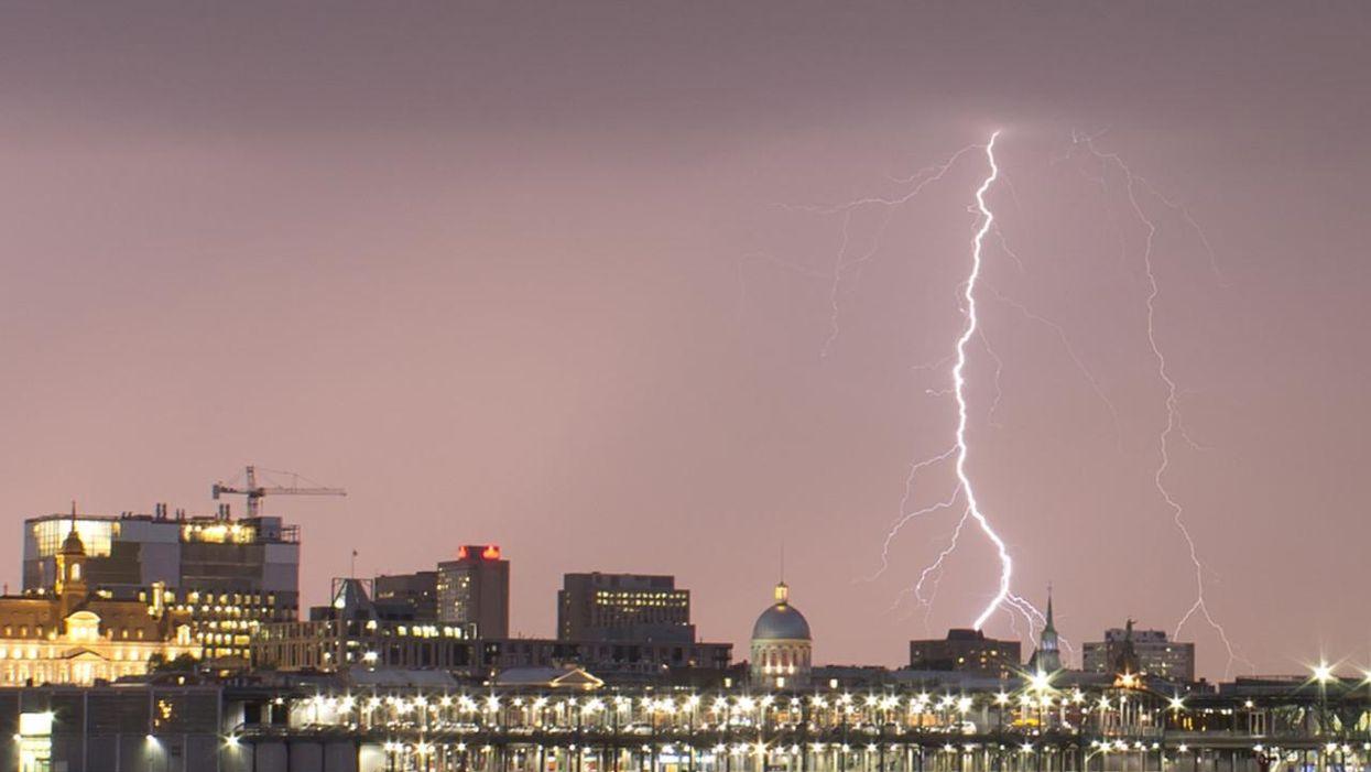 Les orages de cette nuit dans le Grand Montréal font réagir