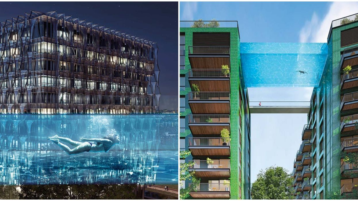 London Sky Pool Is the First Of Its Kind In The World
