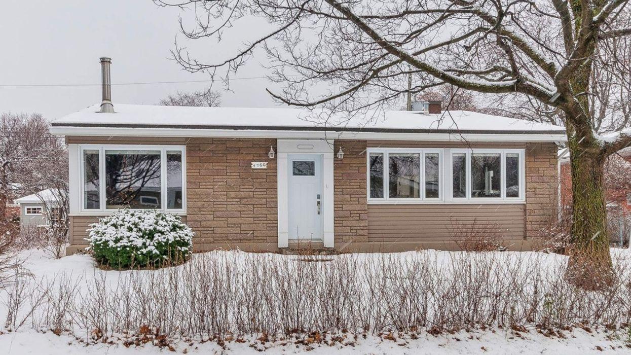Maison à vendre à Montréal : Un bungalow rénové comme un penthouse luxueux