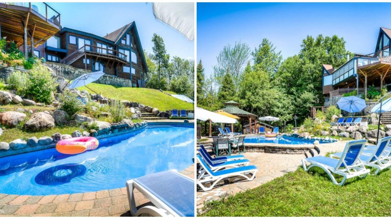 Maison à vendre à Sainte-Agathe-des-Monts digne d'un « resort » 5 étoiles