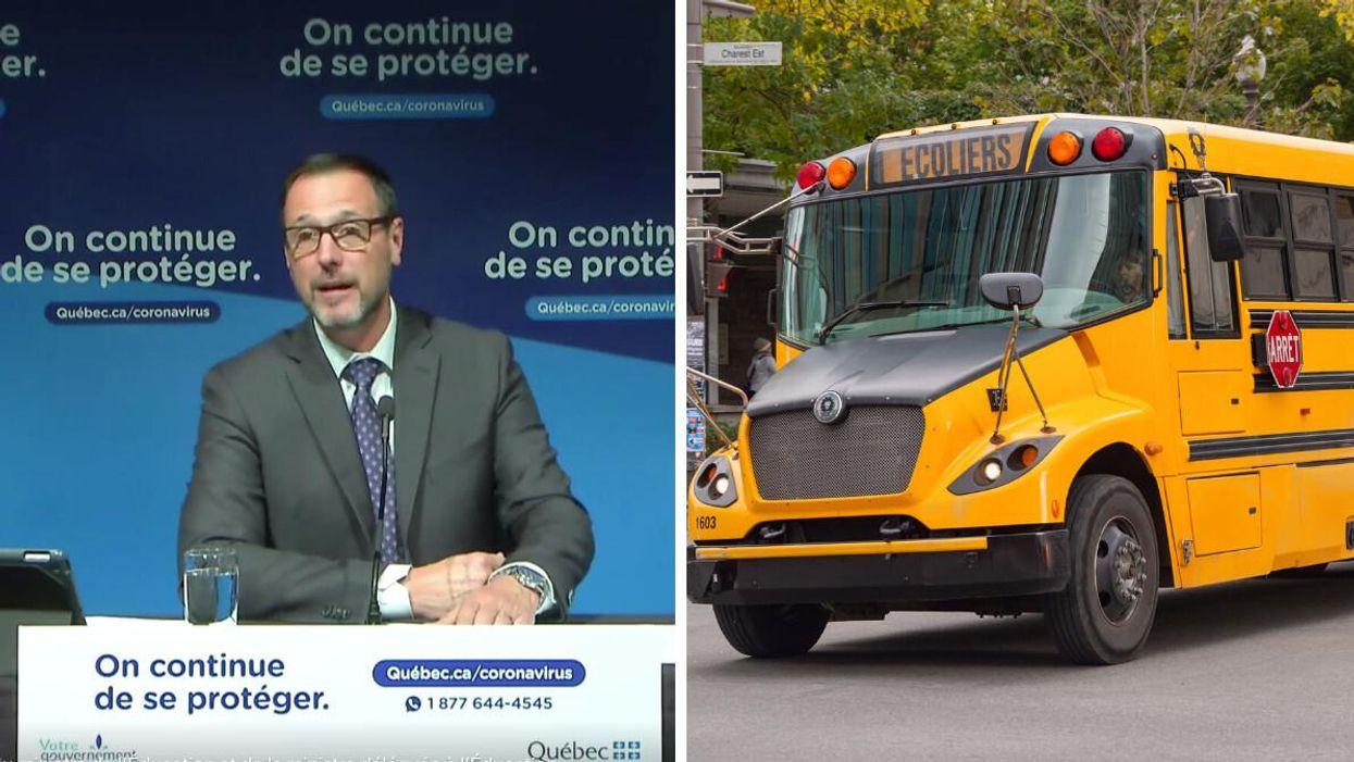 Masque obligatoire à l'école? 9 régions au Québec où il le sera