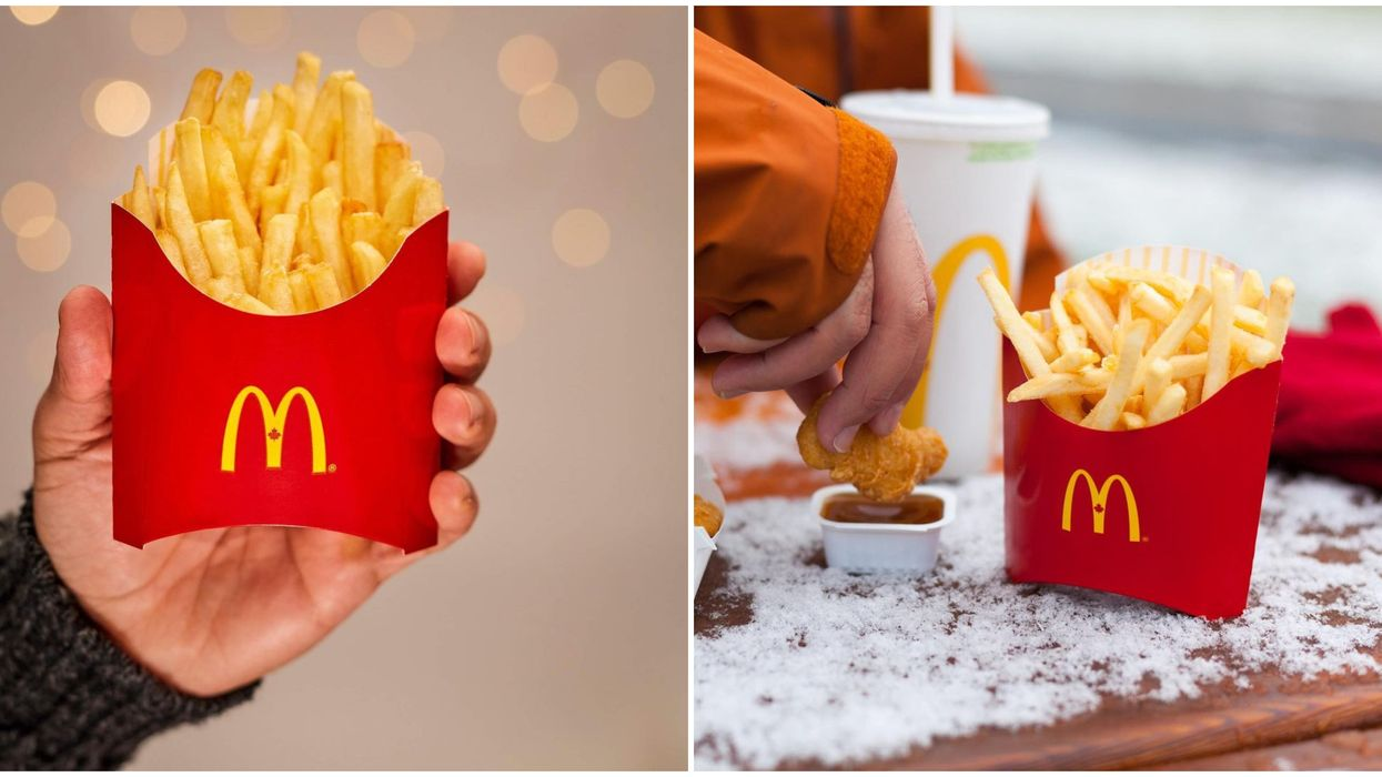 McDonald's Canada Free Fries Giveaway Is Happening All Weekend Long