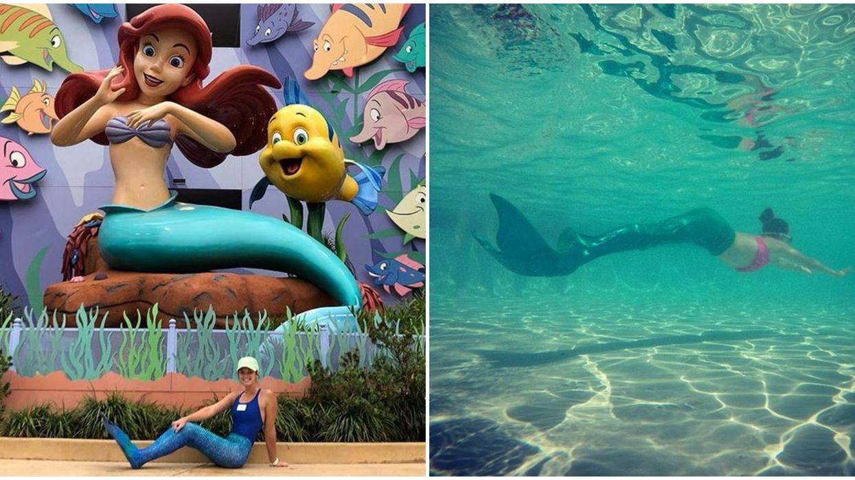 Mermaid School In Orlando At Disney World Is Actually A Thing