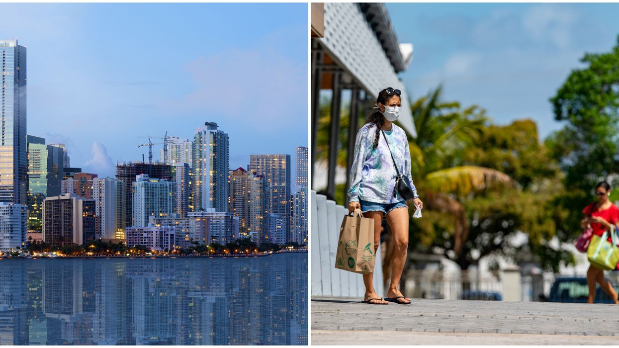 Miami's Face Masks Ordinance Is In Effect & Will Cost Those Found In Violation