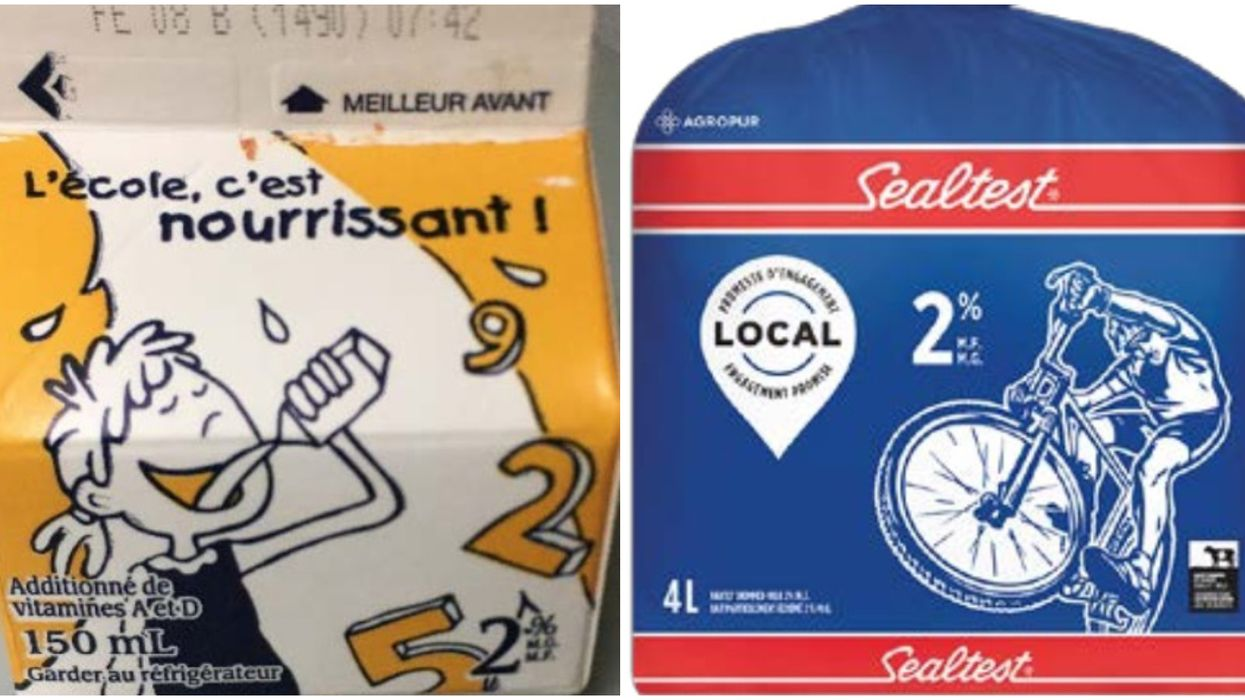 Milk Recall In Ontario & Quebec Is Due To Possible Presence Of Sanitizer