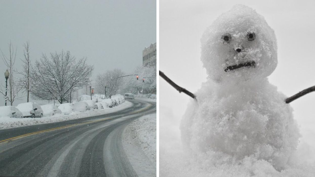 More Snow Is Headed For The Prairies This Week & There Could Be Enough To Build A Snowman