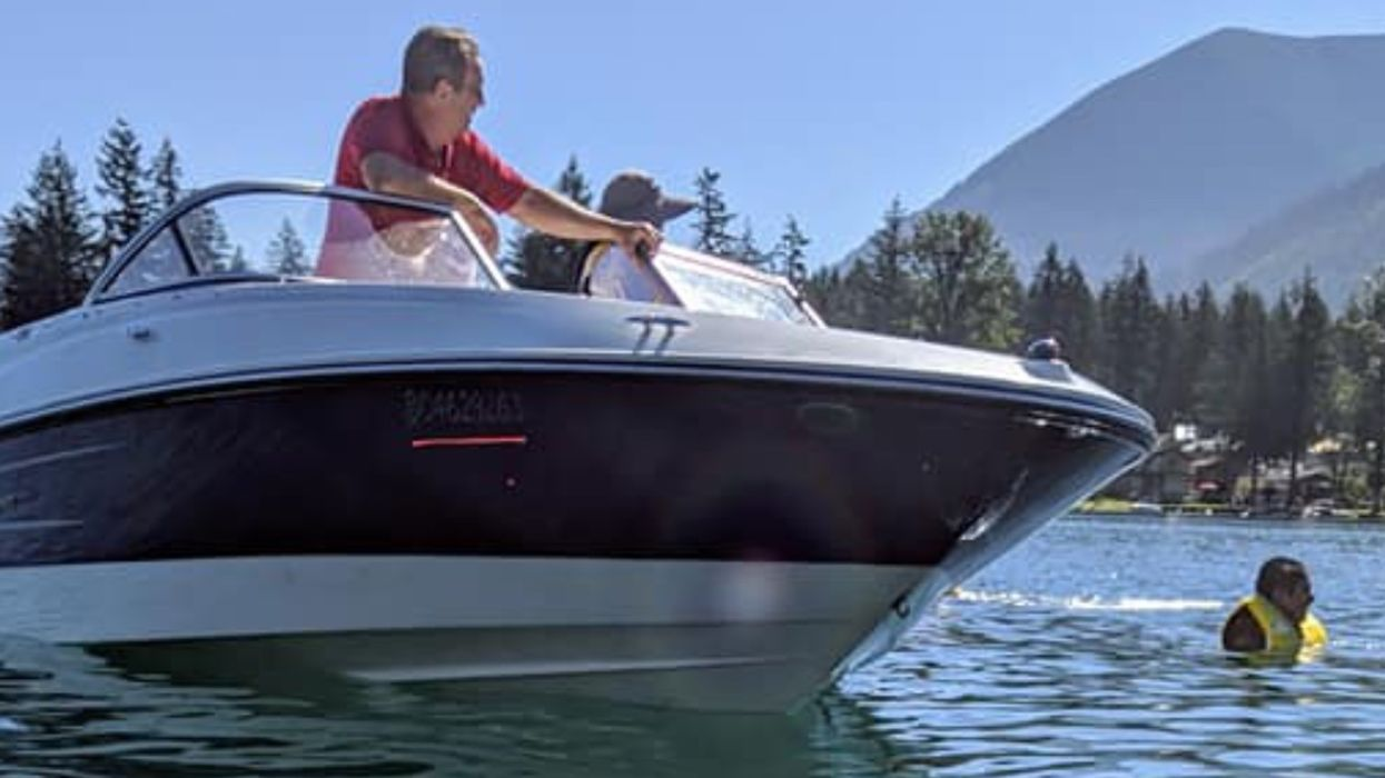 Motorboat Accident In BC Sends Woman In A Canoe To The Emergency Room