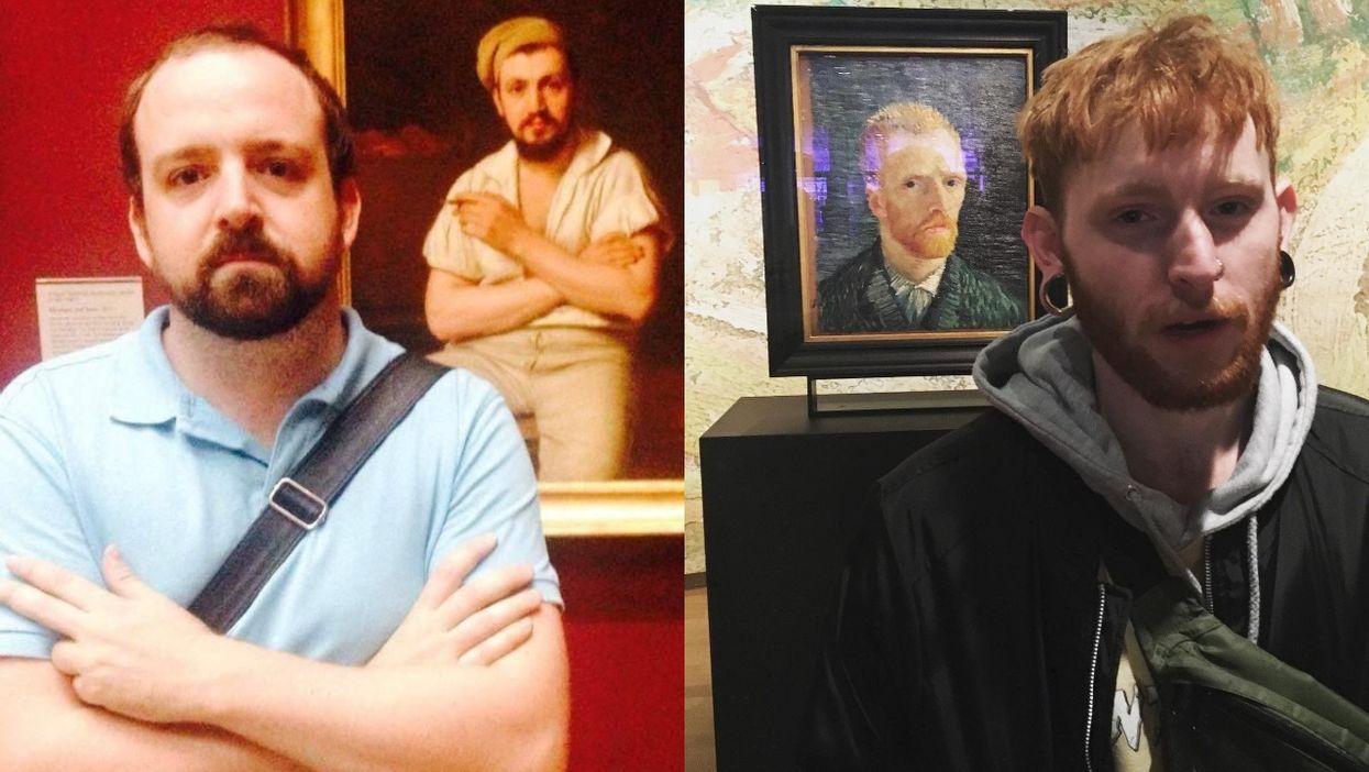 Museum Doppelgangers Past Self Twins Exhibits