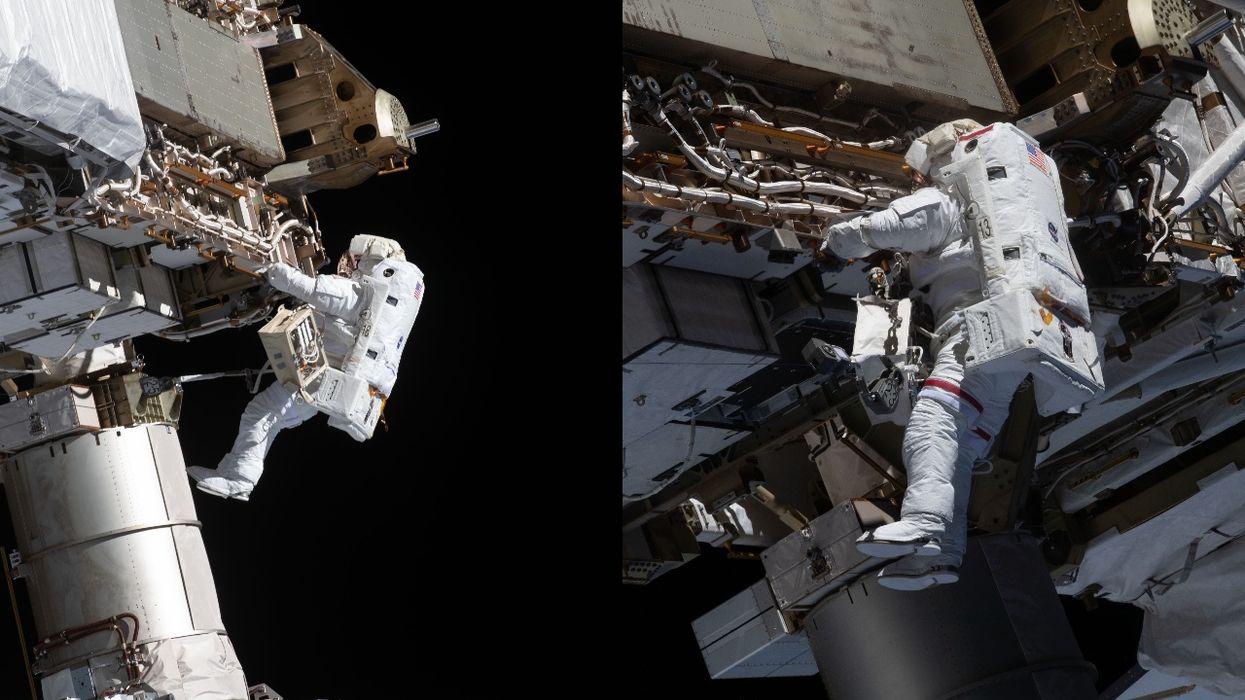NASA Spacewalk International Space Station