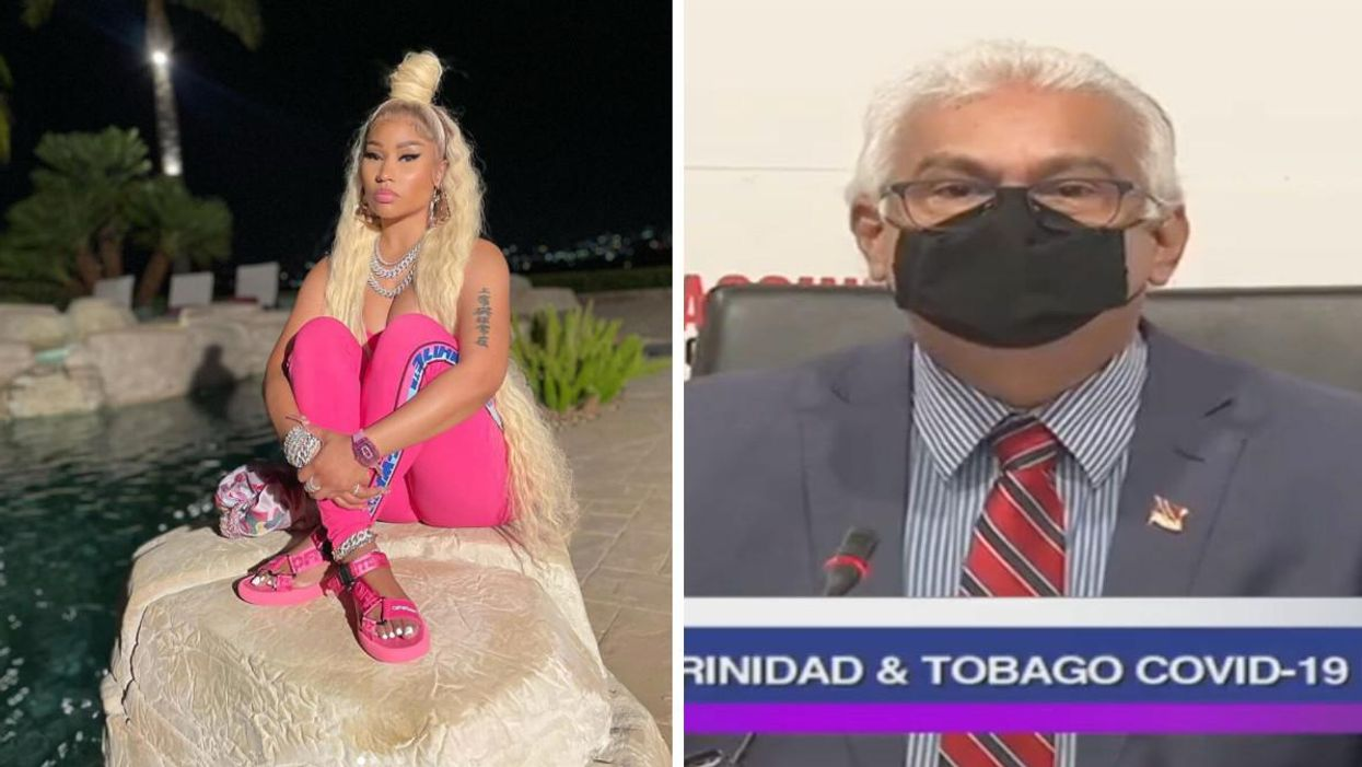 Nicki Minaj Got Called Out By Trinidad And Tobago's Health Minister After Her Testicle Tweet