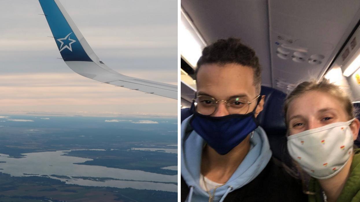 Nouvelles mesures de voyage au Canada : c'est comment de prendre l'avion ?