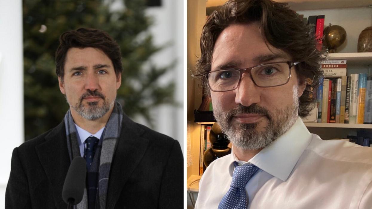 On a demandé à Justin Trudeau si sa barbe fera un «comeback» et il a été assez clair