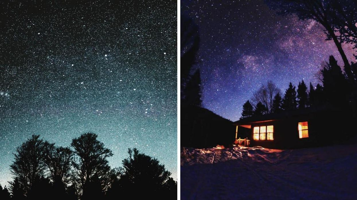 One Of The World's Favourite Stargazing Spots Is In A Dreamy Canadian National Park
