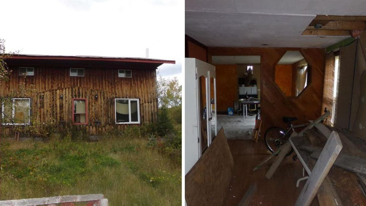 Ontario Home For Sale Looks Straight Out Of A Horror Movie But Is Only $280K