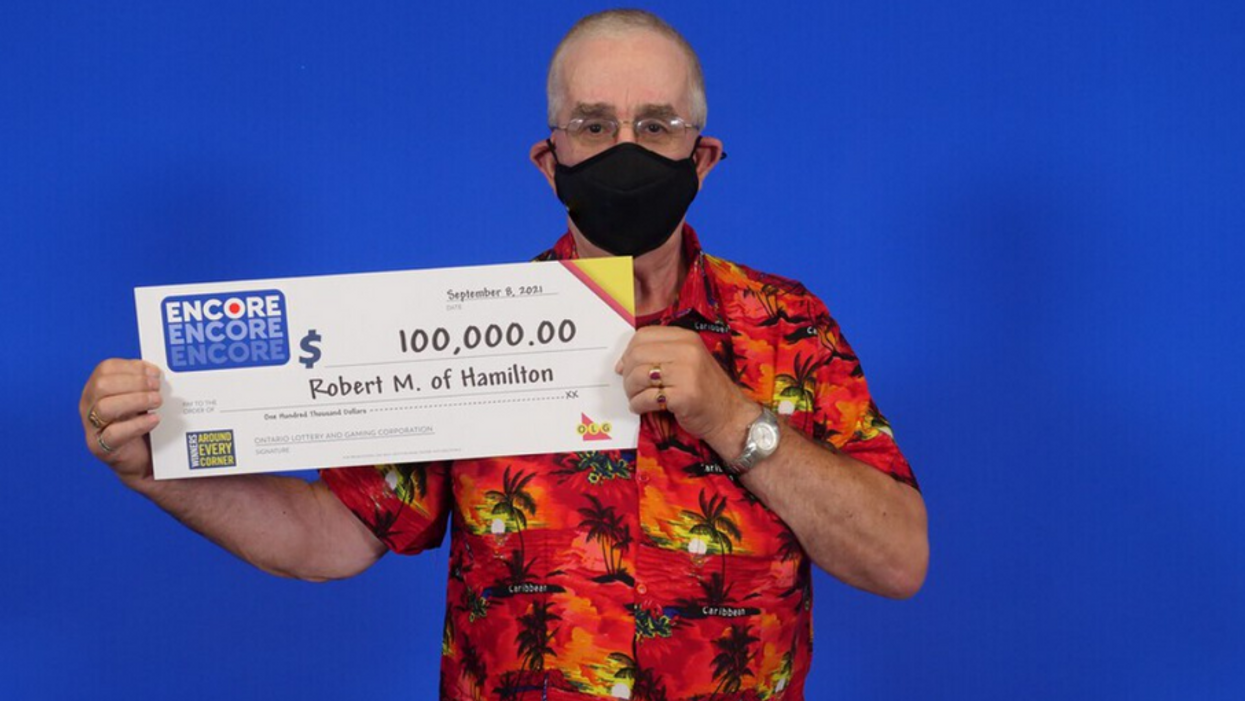 Ontario Lottery Winner Scored Two Big Prizes In One Year & He's 'Feeling Very Lucky'