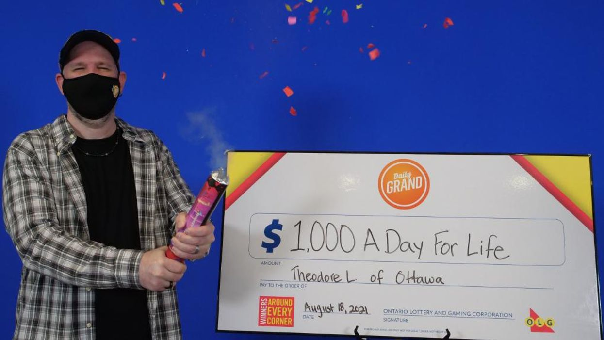 Ontario Lottery Winner Will Use His Millions To Help Indigenous People
