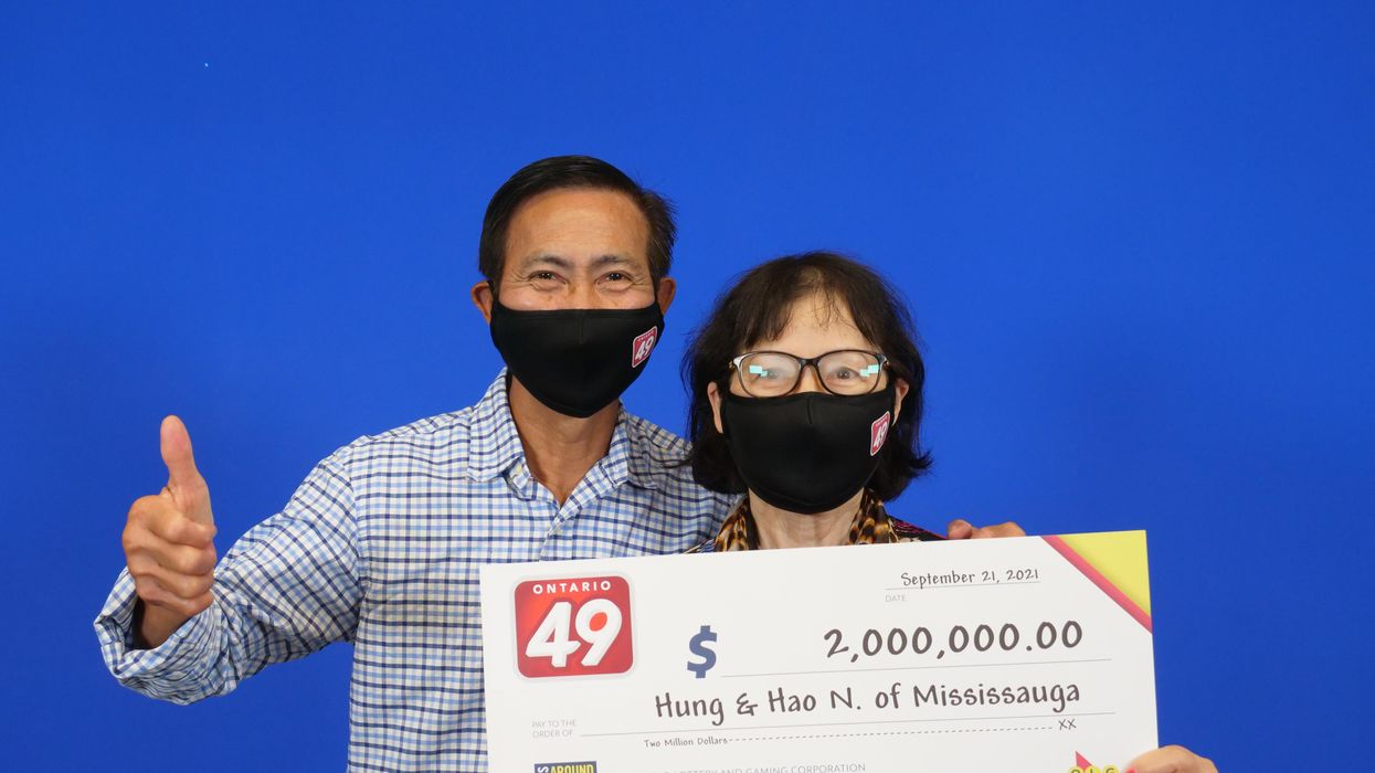 Ontario Lottery Winners Left Their $2M Ticket Sitting Around In A Pocket For Nearly A Week