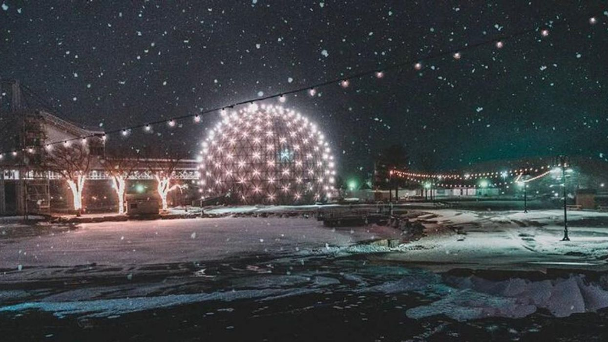 Ontario Place Is Getting A Drive-Thru Winter Wonderland With Crystal Caves & Light Tunnels