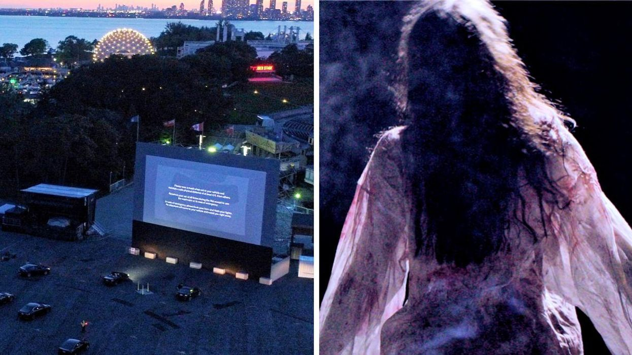 Ontario Place Is Turning Into A Haunted Drive-In & The Monsters Aren't Just On The Screen