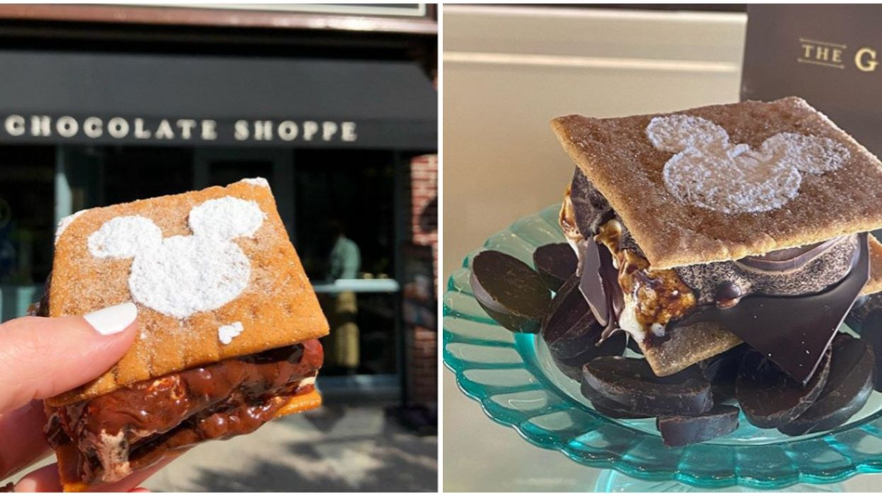Orlando Cafe The Ganachery Serves Moutherwatering Delicious S'mores