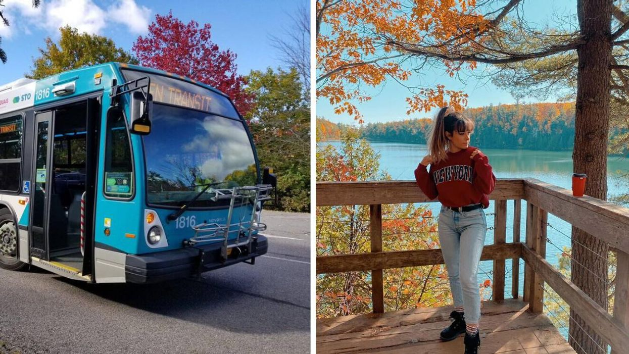 Ottawa's Free Shuttle Bus Will Bring You To Gatineau Park Just In Time For Fall Rhapsody