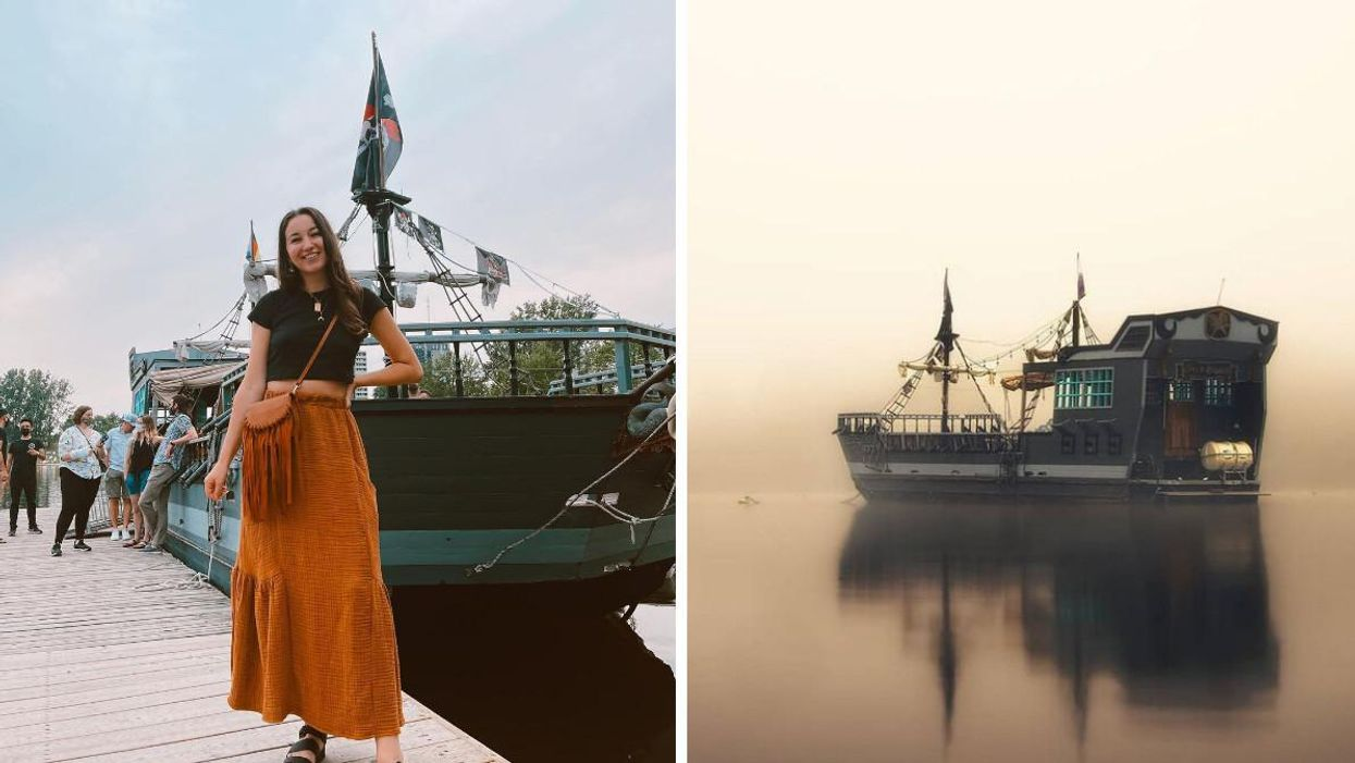 Ottawa's New Escape Game Will Have You Sailing Across Mooney's Bay On A Cursed Ghost Ship