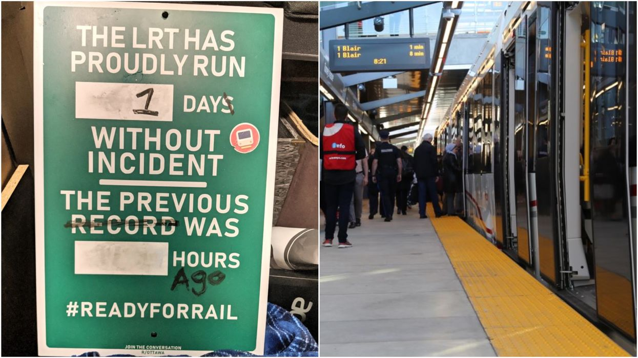 Ottawa's LRT Problems Have Been Summed Up In These Hilarious Tweets