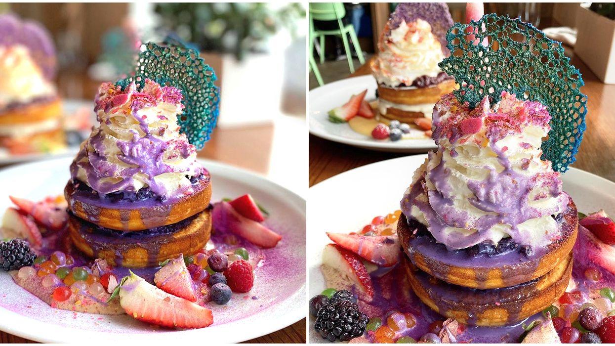 Pancakes In Calgary Where To Get Incredible Mermaid Hotcakes
