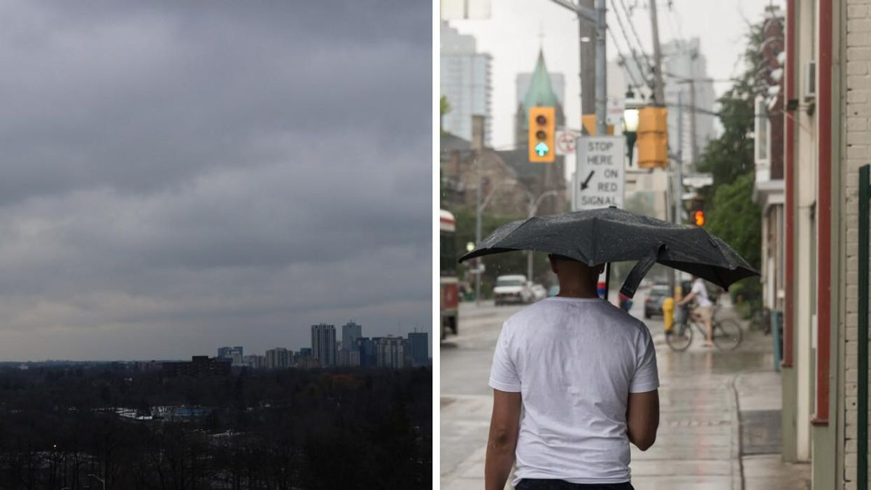 Parts Of Ontario Are Getting Absolutely Hammered With Rain & It's Not Over Yet (PHOTOS)