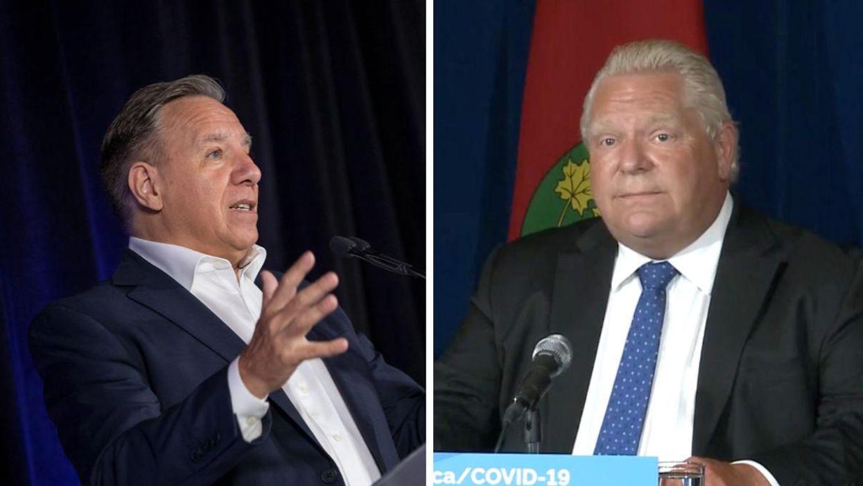 Passeport vaccinal en Ontario : ce que ça veut dire pour le Québec