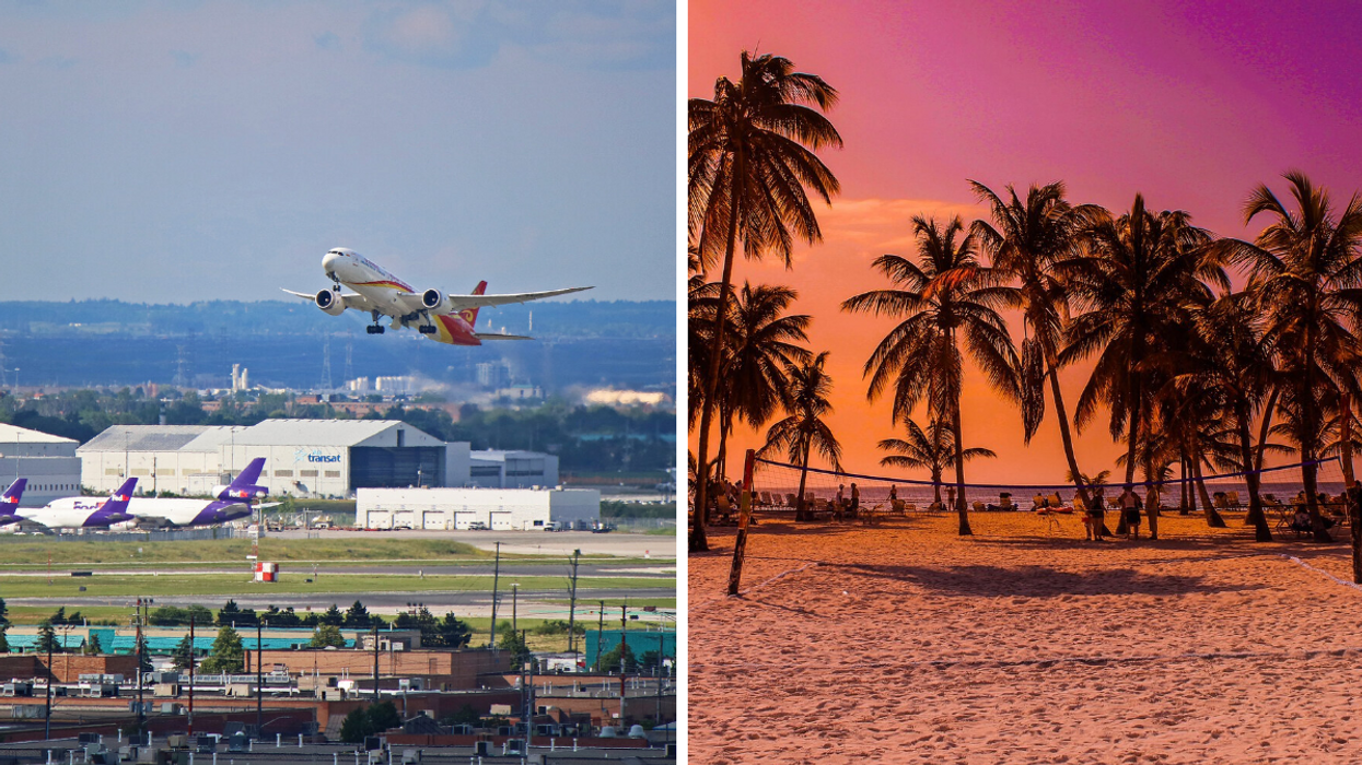 Pearson Airport Is Relaunching Several Flights & There Are So Many Beachy Destinations