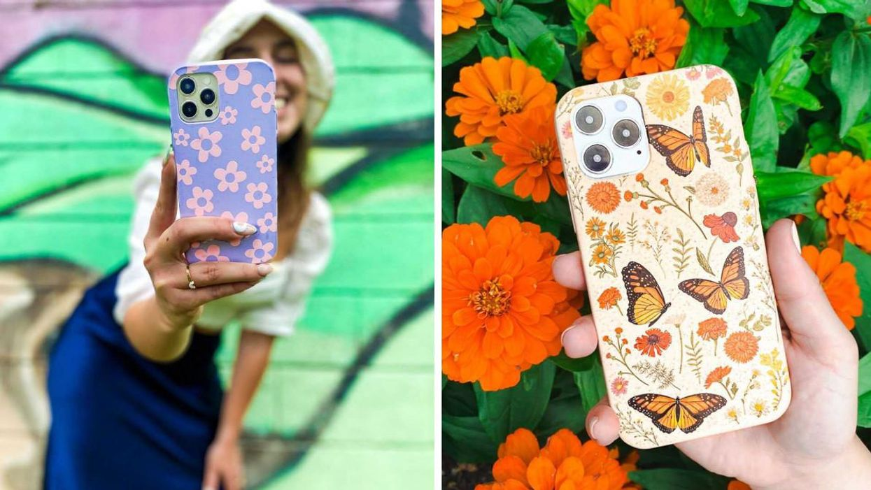 Pela Case In Canada Makes Compostable Phone Cases & They're All On Sale Right Now