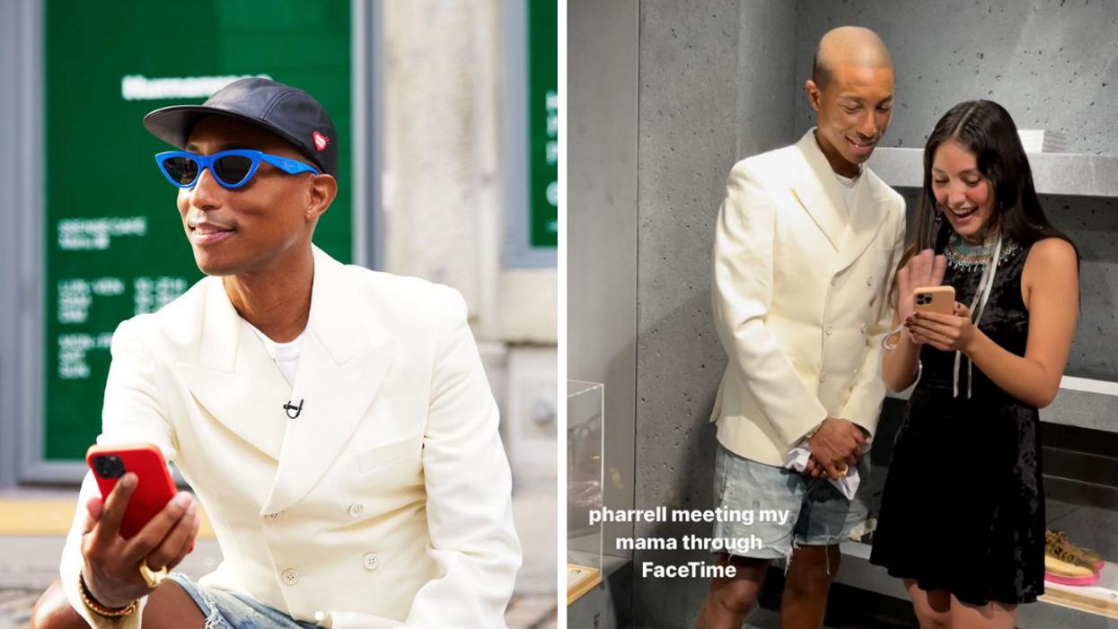 Pharrell Williams a été aperçu dans le Vieux-Montréal ce week-end et voici pourquoi