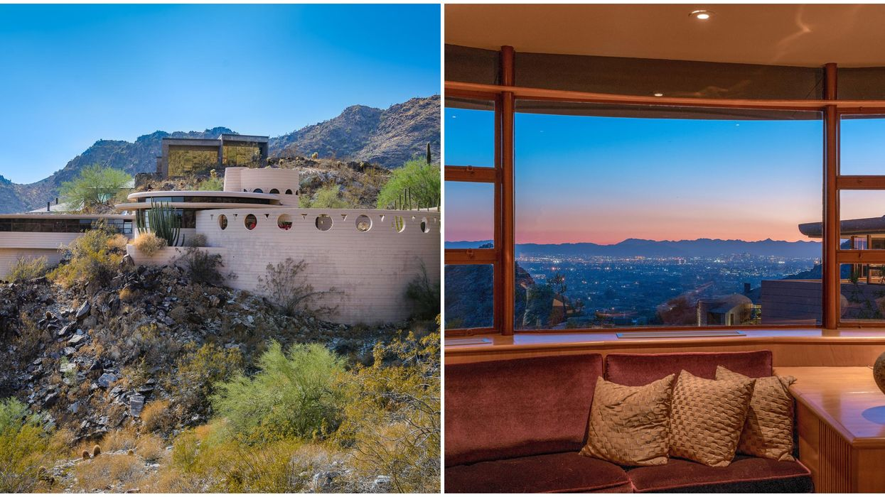 Phoenix Homes For Sale Include This Frank Lloyd Wright Circular House With Sunset Views