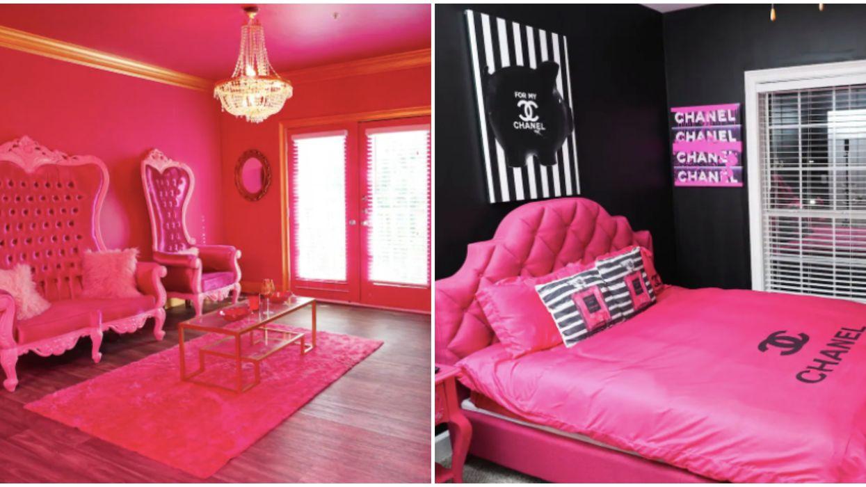 Pink Airbnb In Atlanta Georgia Is The Perfect Girls Weekend Getaway Destination