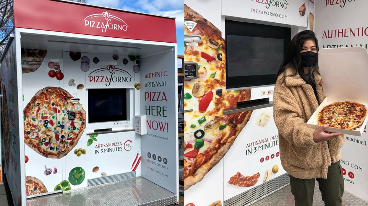 Pizza Vending Machines Have Arrived In Ottawa & They're Open 24/7