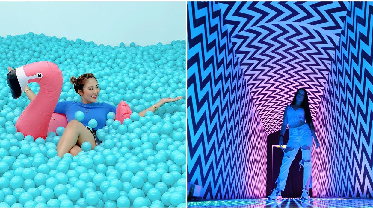 Pop-Up Near Vancouver Is Exactly Like Being In A Fun House