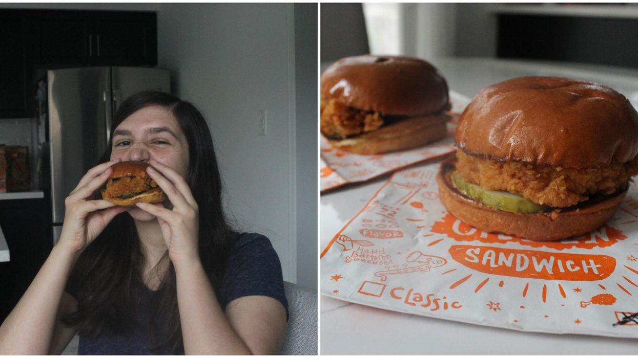 Popeyes Canada Chicken Sandwich Is Launching Nationwide & I Got To Try It