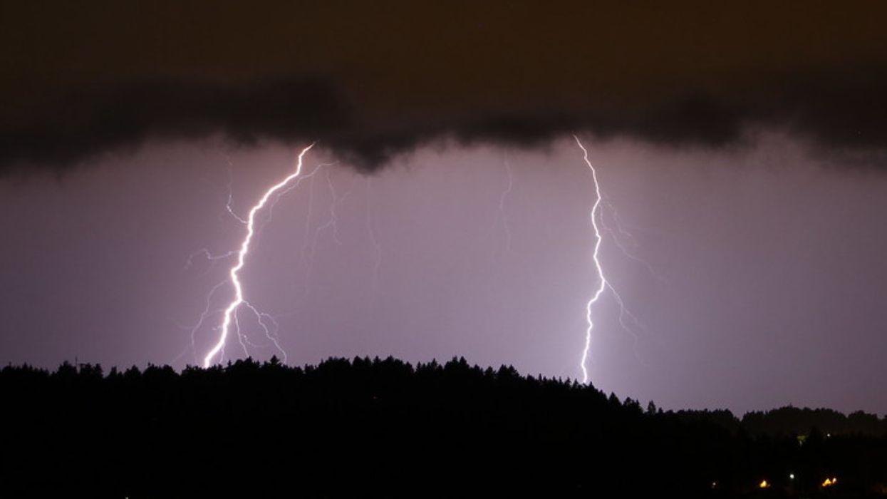 Risque d'orages violents avec de la grêle dans plusieurs régions du Québec ce week-end